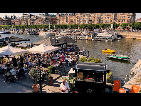 STOCKHOLM CITY SUMMER 5-6 June 2021 in 4K