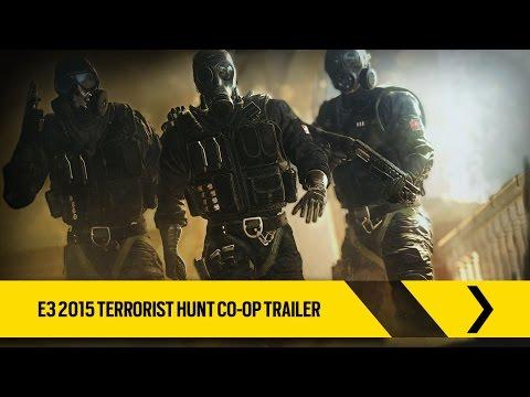 Tom Clancy's Rainbow Six Siege - Oficial – Tráiler cooperativo Caza del terrorista del E3 2015 [ES]
