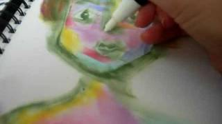 How to Make Faces Using Ink Pads