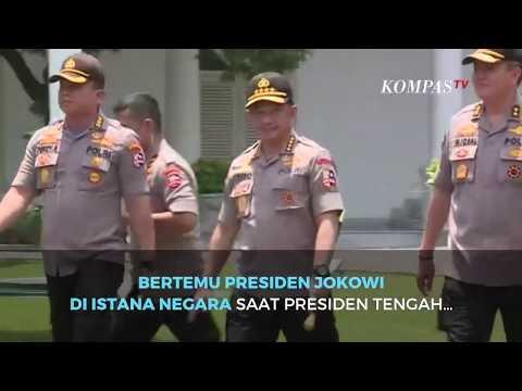 Jokowi Berhentikan Jenderal Tito Karnavian Dari Kapolri