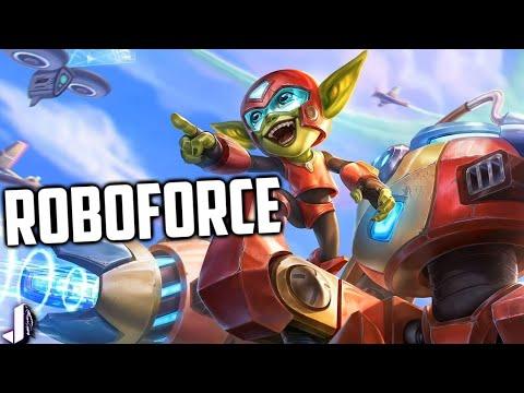 ROBO FORCE RUCKUS! Paladins OB70 Battle Pass Skin Gameplay