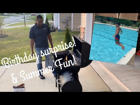 Stan's Birthday Surprise | Summer Fun!