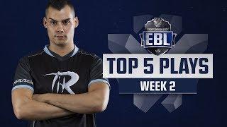 TOP 5 PLAYS - EBL LoL #2