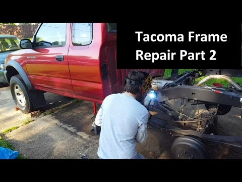 Toyota Tacoma Frame Rust Repair Episode 2 Of 2 Youtube