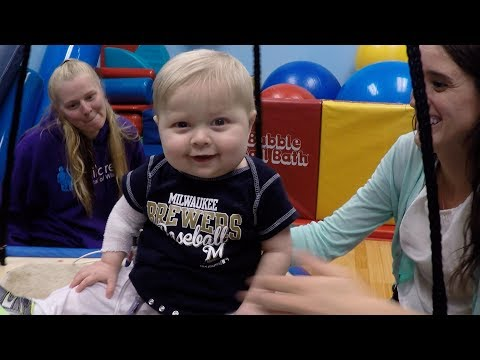 Waiting for a new heart: BrentLee's physical therapy at Children's Hospital of Wisconsin