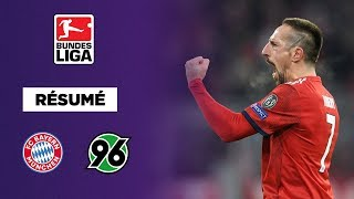 Résumé :  Le Bayern Munich envoie Hanovre en deuxième division