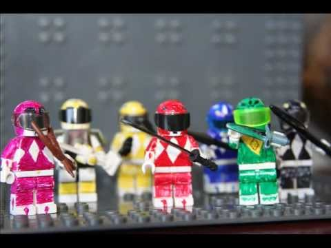 Power Ranger Lego.wmv: Lego Power Rangers