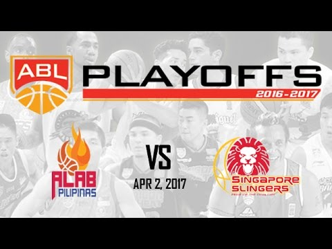 Alab Pilipinas vs. Singapore Slingers | ABL Livestream - Apr 2, 2017