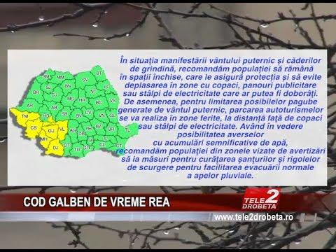 COD GALBEN DE VREME REA