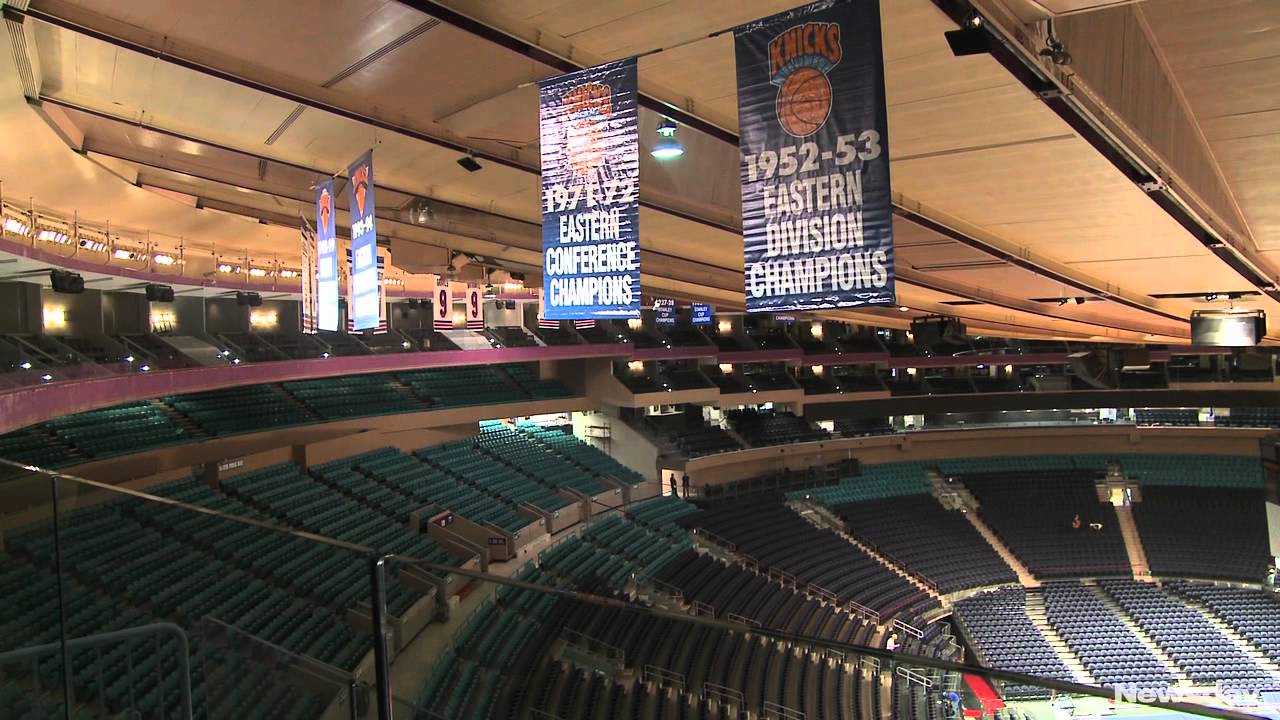 Tour Of MSG Remodeling Progress   YouTube Pictures