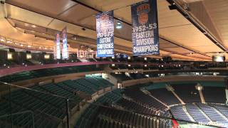 Tour of MSG remodeling progress