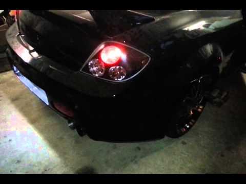 Hyundai Tiburon 2.7 V6 Supercharger Bastuck - YouTube