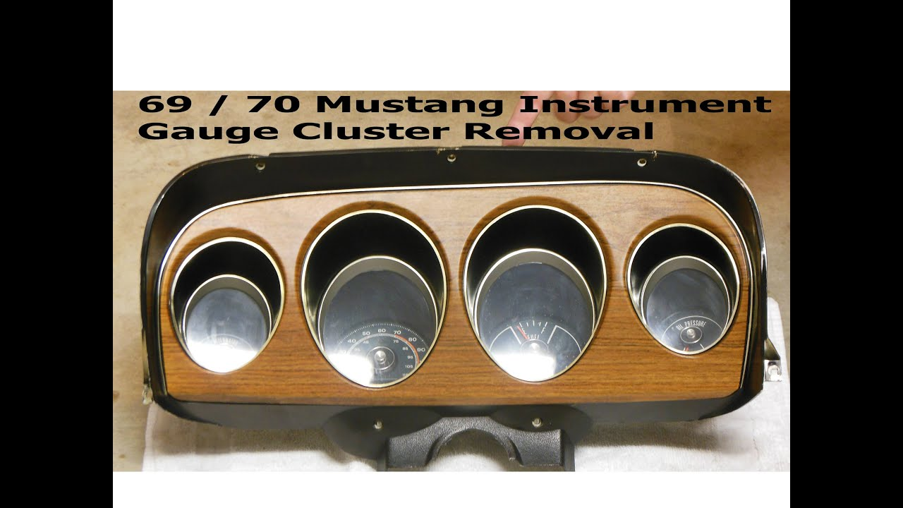 medium resolution of 1969 1970 mustang remove instrument cluster how to gauge cluster ford mach 1 shelby boss 1970 mustang mach 1 instrument cluster on 1970 mercury