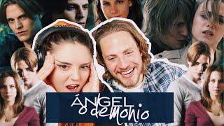 COMENTANDO ÁNGEL O DEMONIO CON JAIME OLÍAS | Andrea Compton