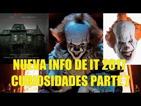 Nueva info de IT ESO 2017 Curiosidades Atraccion Casa Neibolt Mascaras Pennywise Analisis Filtrajes