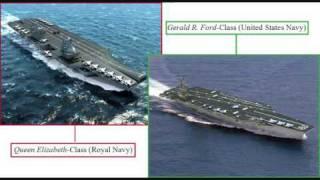 Queen Elizabeth Class vs. Gerald R. Ford Class
