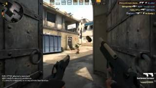 CS GO :Dual Berettas Contractor Gameplay