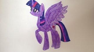 Как я Рисую Twilight Sparkle(Здесь я рисую Твайлайт Спаркл, приятного просмотра:) Я кв http://vk.com/princesscelestia03 Это канал Анель https://www.youtube.com/user/An..., 2014-01-18T09:33:03.000Z)