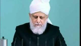 (English) Friday Sermon 4th March 2011 Ultimate triumph of divine communities, Islam Ahmadiyya