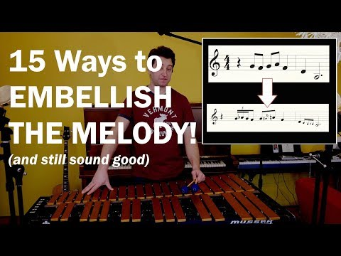 """Jazz Lesson: 15 Ways To Embellish The Melody, and still sound good - """"Summertime"""" (Gershwin)"""