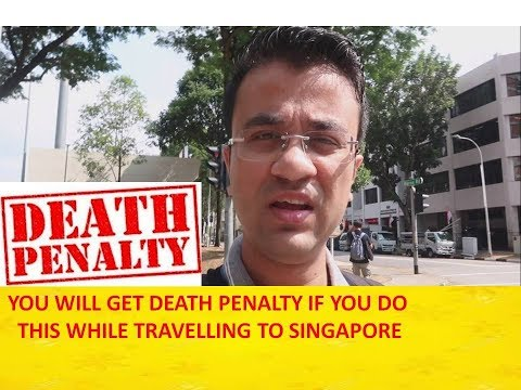 DON'T DO THIS IN SINGAPORE - 10 THINGS NOT TO DO IN SINGAPORE