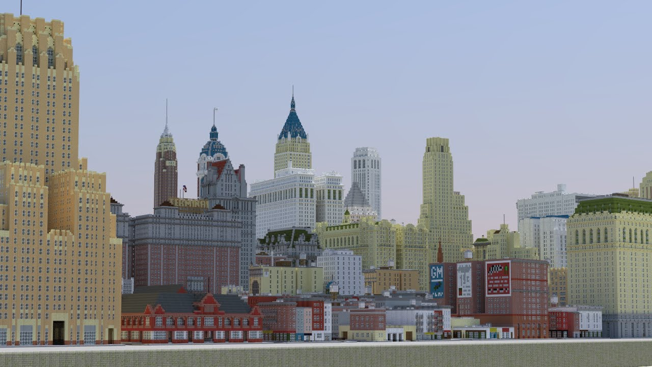 New York In Minecraft HD P DOWNLOAD Official By - New york map in minecraft