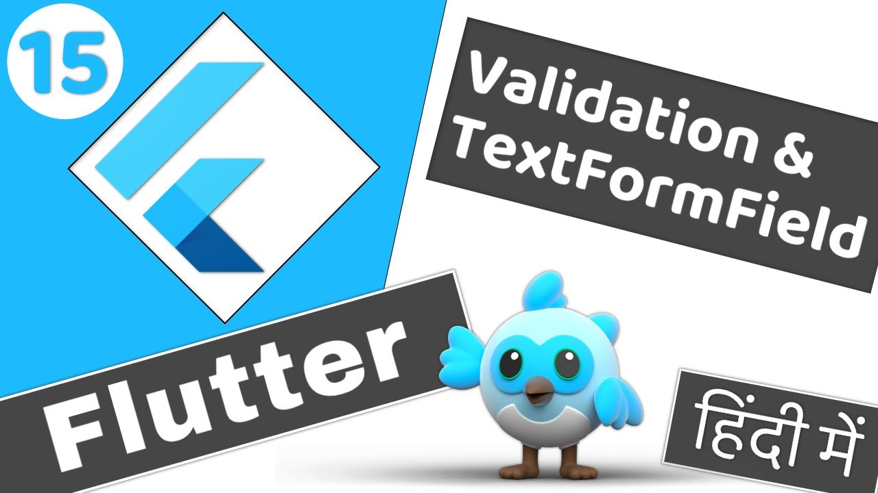 Adding validation in Text Field and Text Form Field  Flutter 2 tutorial for beginners #15