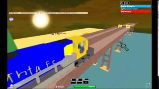 ROBLOX Drive A Train Off A Bridge