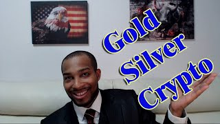 Buying The Gold, Silver and Crypto Dip