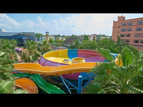 Giant Toilet Water Slide at Usotel Waterland