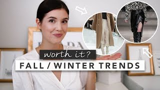 Fall / Winter Trends 2019: What's Worth It? | by Erin Elizabeth