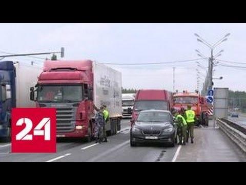 видео: На границе с Белоруссией построили трассу для запрещенных яблок и груш