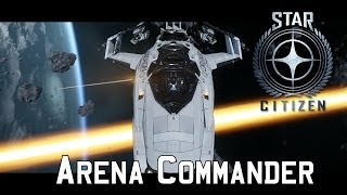 Star Citizen Dog Fighting Module (Arena Commander) First Look and Gameplay - 300i