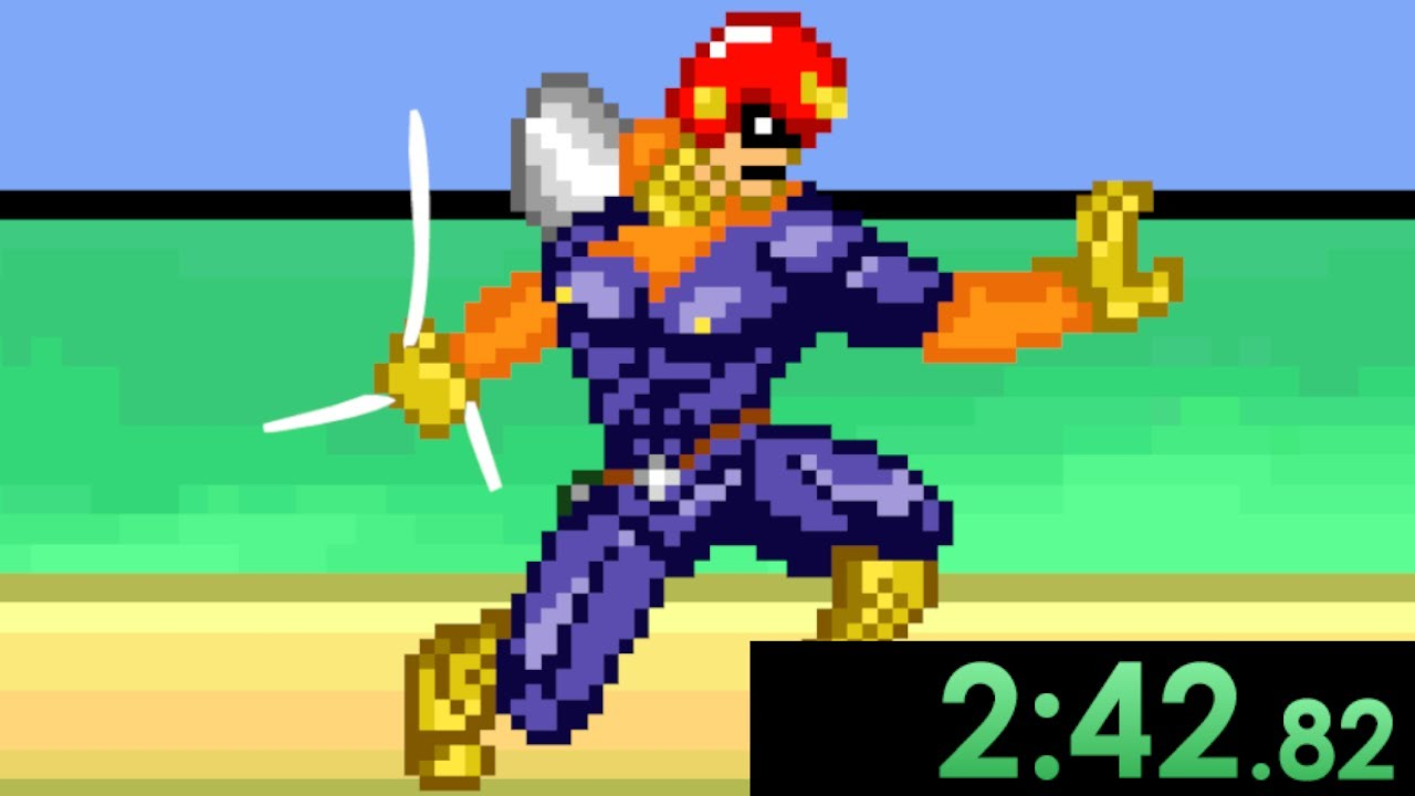 I decided to speedrun Super Smash Flash and elegantly annihilated every opponent