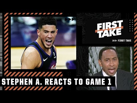 'Devin Booker is the next Kobe Bryant!' - Stephen A. reacts to Suns vs. Clippers Game 1 | First Take