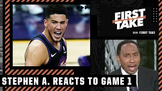 'Devin Booker is the next Kobe Bryant!' - Stephen A. reacts to Suns vs. Clippers Game 1