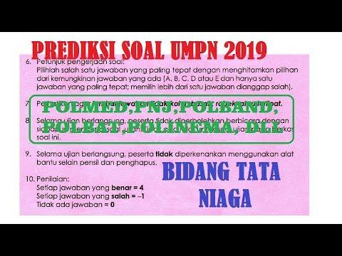 Bidang rekayasa mata ujian test skolastik. Uppssss Soal Tata Niaga Umpn 2019 Polmed Polband Polinema Pnj Dab Polbat Dll Part 3 Youtube