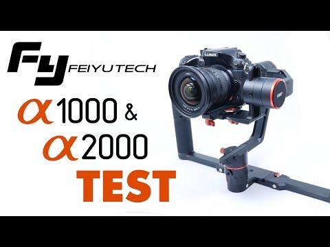 Die Alpha-Serie im Test: Feiyu Tech a2000 & a1000 Dual Handle Kit - Deutsch
