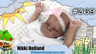 Reborn baby doll Becky for sale - Monkey by Bonnie Brown - The SMN Show #369