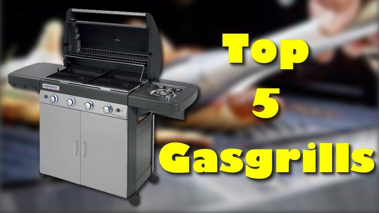 Die 5 besten Gasgrills - Welcher ist der beste Gasgrill ?