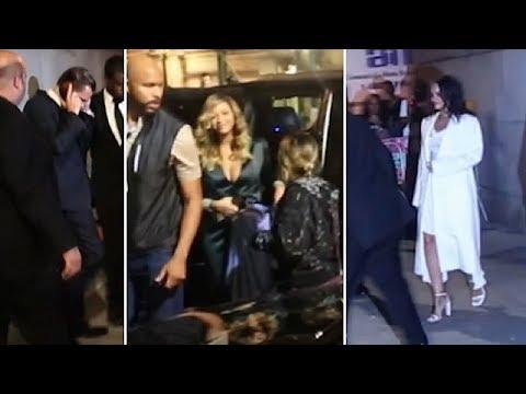 Leonardo DiCaprio, Beyonce, And Rihanna Attending The Diamond Ball In New York City
