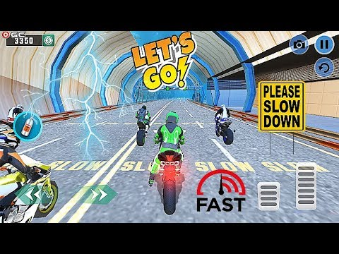 Underwater Bike Extreme Stunt Racing - Motor Racer Games - Android Gameplay Video