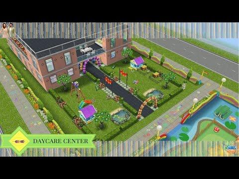 The Sims Freeplay - Daycare Center (Original Design)
