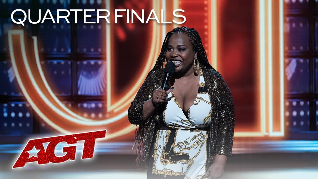 Comedian Jackie Fabulous Delivers FUNNY And Relatable Jokes About Dating - America's Got Talent