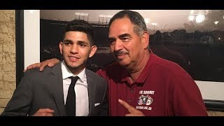 Abel Sanchez Talks about Alex Saucedo and Oleksandr Usyk vs. Murat Gassiev