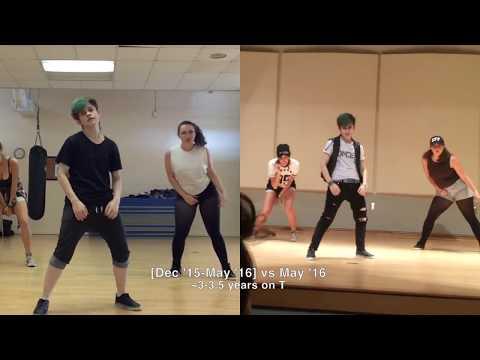(gender) Transition Timeline (ftm [female-to-male]) - (but DANCE Version !)