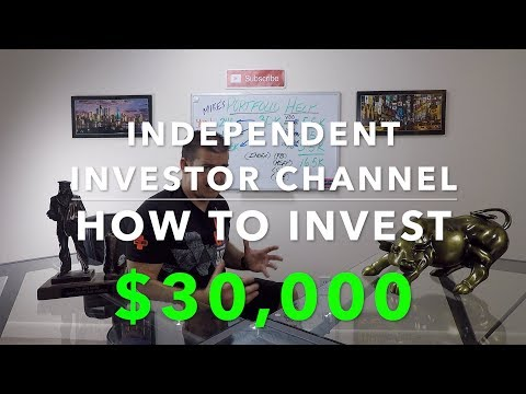 How to invest $30,000 | Portfolio building my way