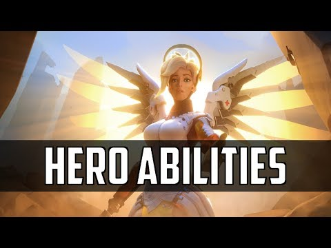 Overwatch: All Hero Abilities Compilation  |  25 Heroes Keybinds HD
