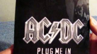 AC/DC Plug Me In Deluxe Edition Unpackaging