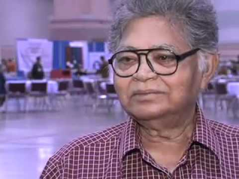 Writer Sunil Ganguly interviewed...